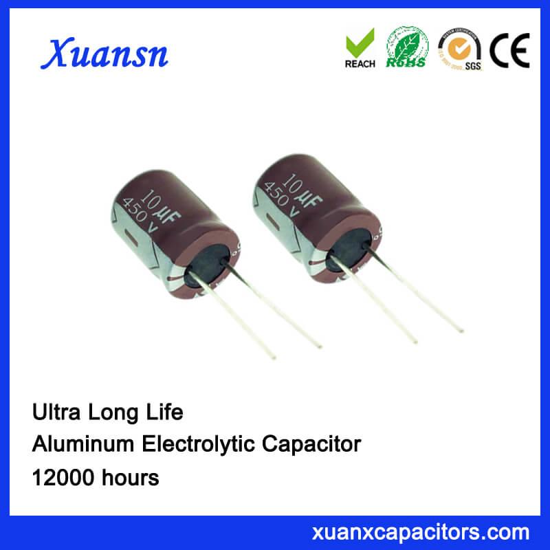10uf 450v High Voltage Electrolytic Capacitors For Sale