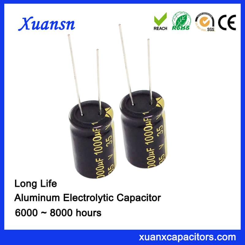 1000uF 35V Electrolytic Capacitor 105C