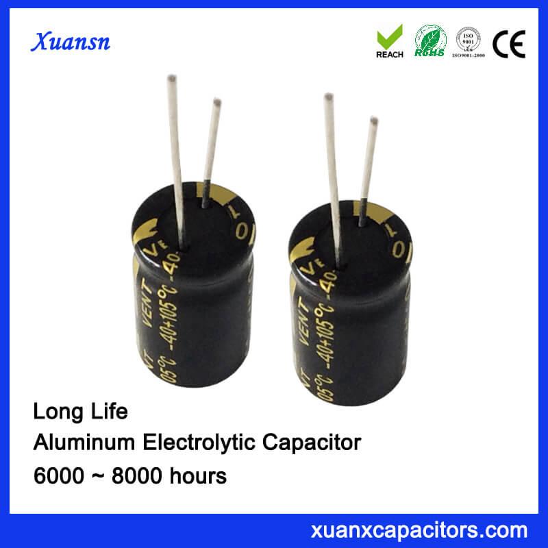 63V 220UF Aluminum Electrolytic Capacitor Manufacturers