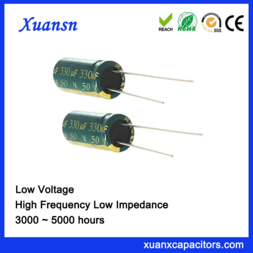 50V 330UF Best Electrolytic Capacitors For Audio
