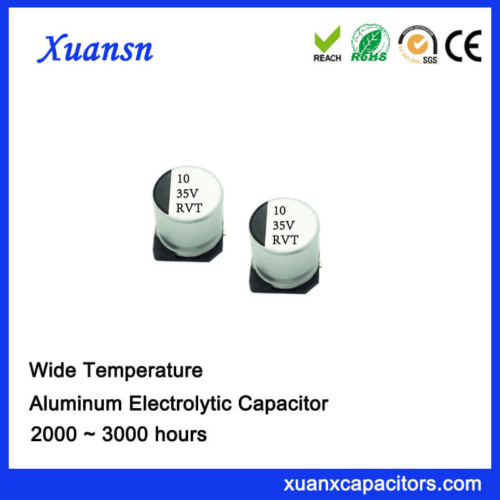 10uf 35v Chip Type Aluminum Electrolytic Capacitor