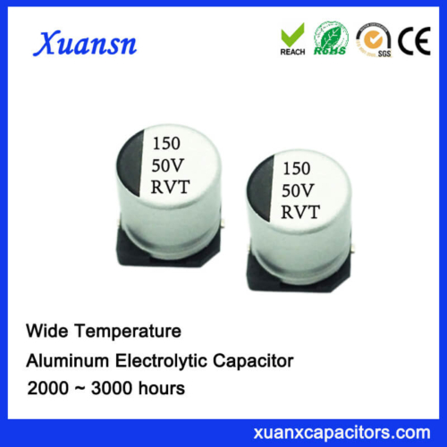 Customized 150uf 50v Chip Type Electrolytic Capacitor