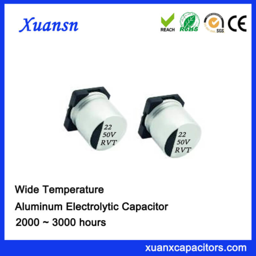 SMD 22uf 50v Chip Type Aluminum Electrolytic Capacitor
