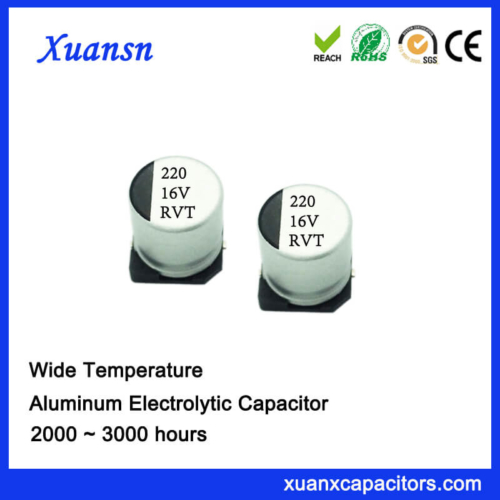 220uf 16v Chip Type Electrolytic Capacitor SMD For Sale