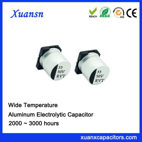 Chip 33UF 50V Standard Aluminum Electrolytic Capacitor