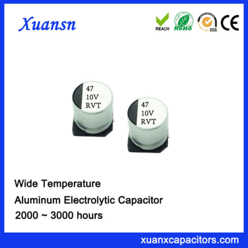 China SMD 47uf 10v Electrolytic Capacitor Chip Type