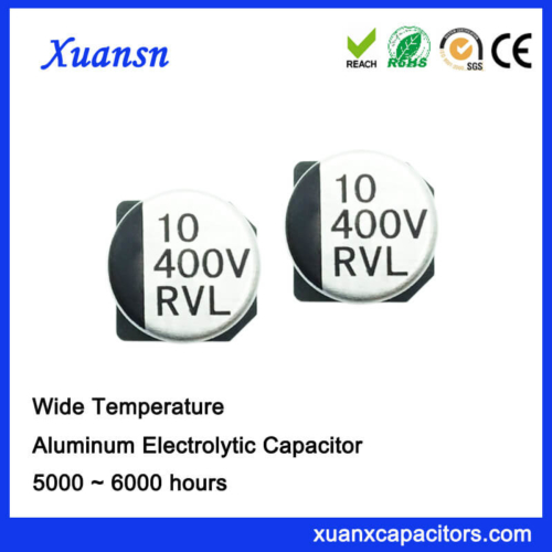 10UF 400V Long Life SMD Electrolytic Capacitor