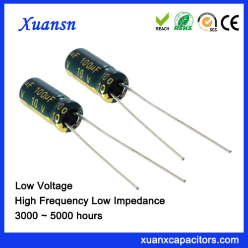 High Frequency100UF 10V Electrolytic Capacitor