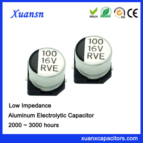 100UF 16V Surface Mount Electrolytic Capacitor