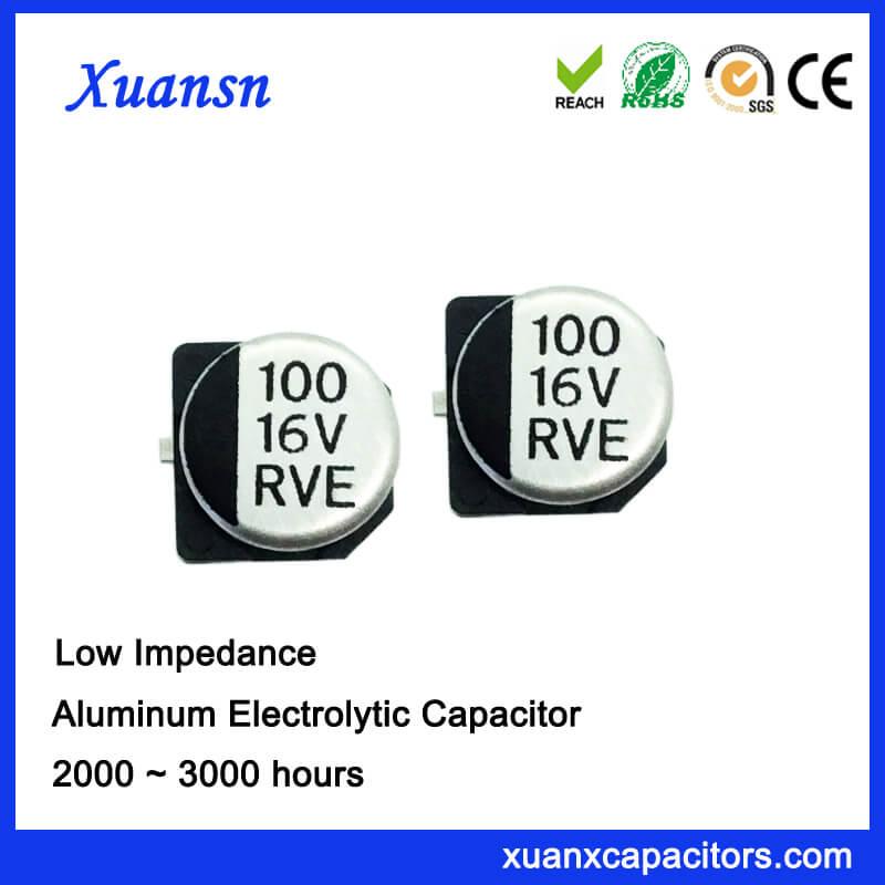 100UF 16V Surface Mount Electrolytic Capacitor