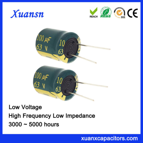 63V 100UF Electrolytic Capacitor For Audio Power Supply