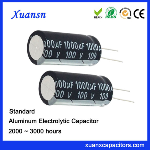 1000UF Aluminum Electrolytic Capacitors For Adapter