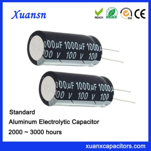 1000UF Aluminum Electrolytic Capacitors For Adapter