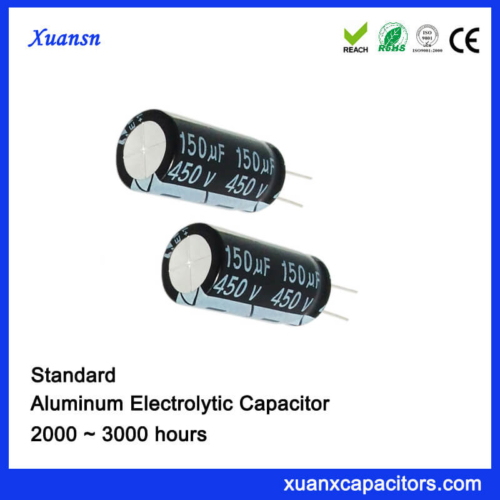 3000 Hours 150UF 450VEelctrolytic Capacitor