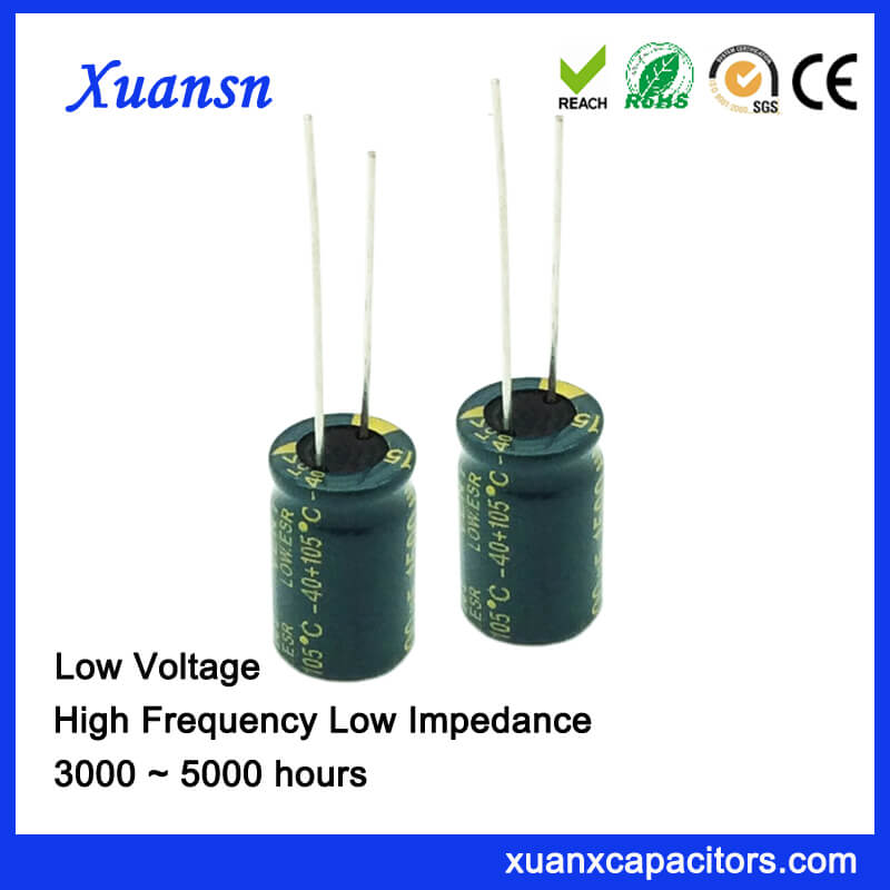 1500uf 10v High Frequency Electrolytic Capacitor