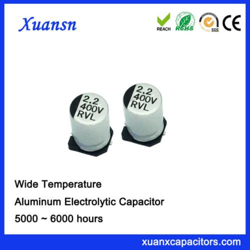 5000H Chip 2.2UF 400V Aluminum Electrolytic Capacitor
