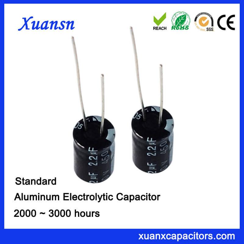 High Voltage 2.2UF 450V Capacitors For Sale