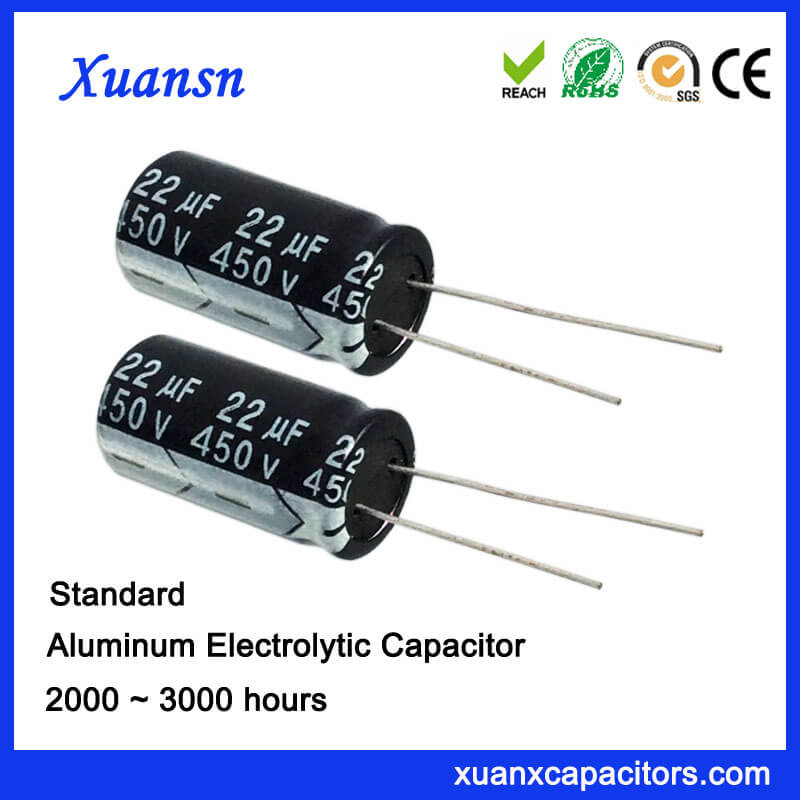 High Voltage 450V Electrolytic Capacitors For Sale