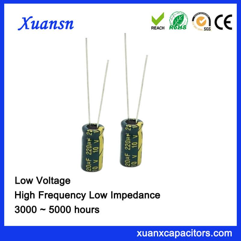 220UF 10V Electrolytic Capacitor For Loundspeaker