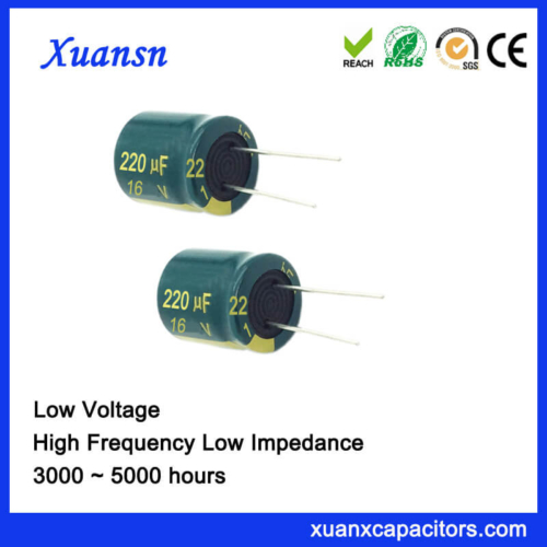 16V High Frequency Electrolytic Capacitor For Charger