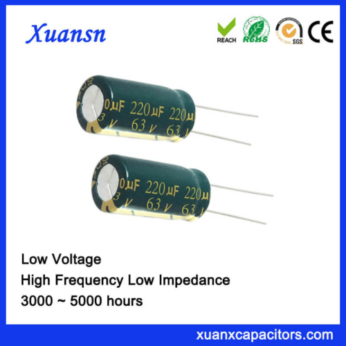220UF 63V Best Electrolytic Capacitors For Audio Power Supply