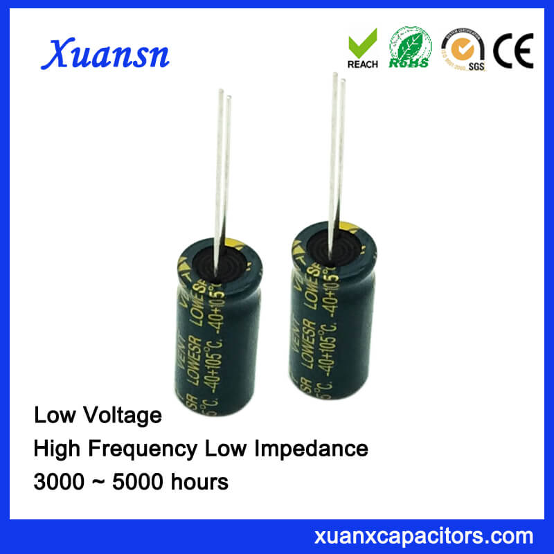 2200uf 10v Electrolytic Capacitor High Frequency