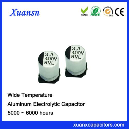 Chip 105℃ 3.3UF 400V SMD Electrolytic Capacitor