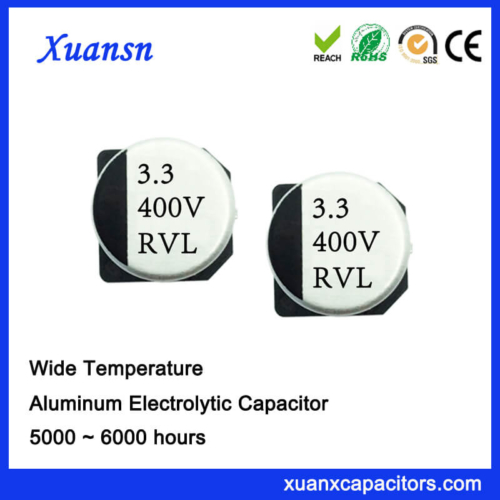 Chip 105℃ 3.3UF 400V SMD Electrolytic Capacitor