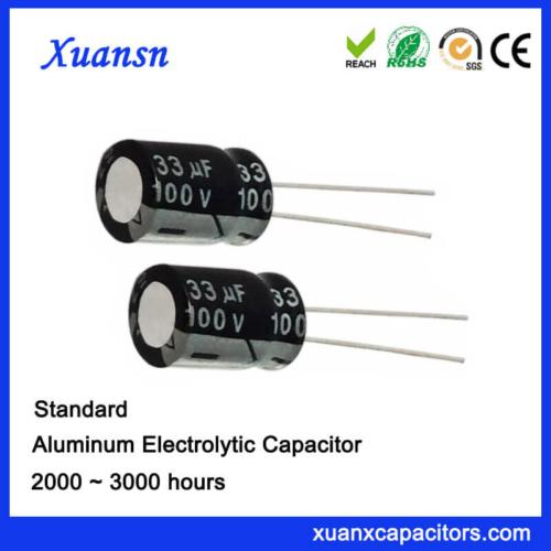 33UF 100V General Electrolytic Capacitor For Sale