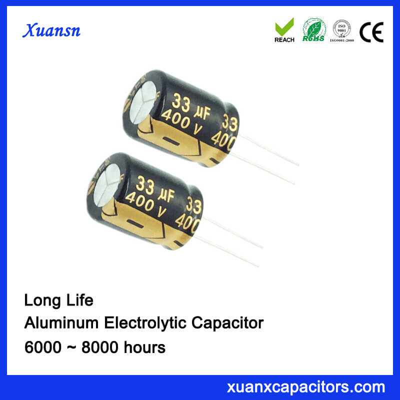 Long Life Electrolytic Capacitor For Waterproof Power Supply