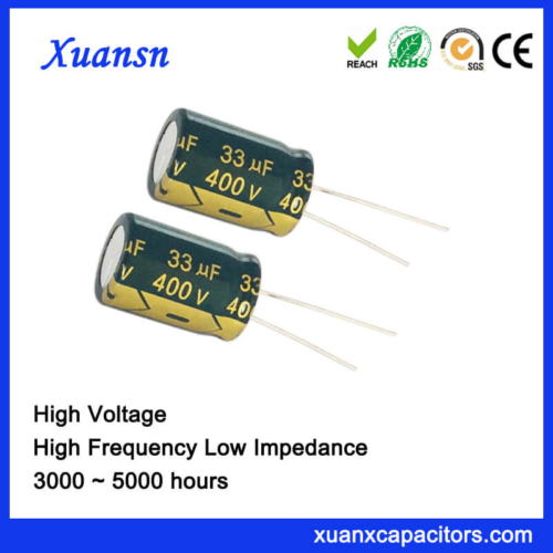 400v High Voltage Electrolytic Capacitor For Adapter