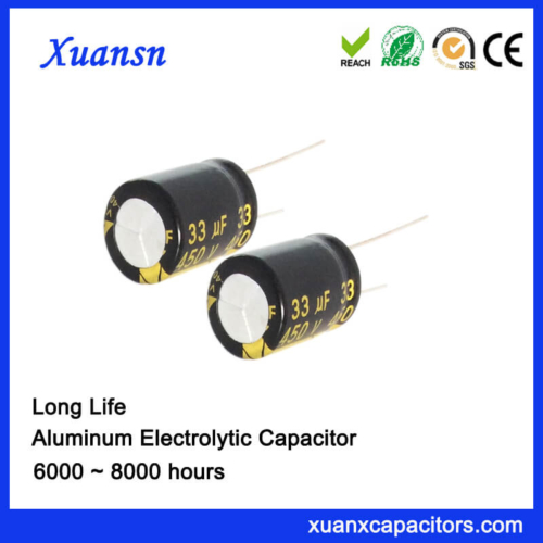Long Life Electrolytic capacitor For Street Lamp Power Supply