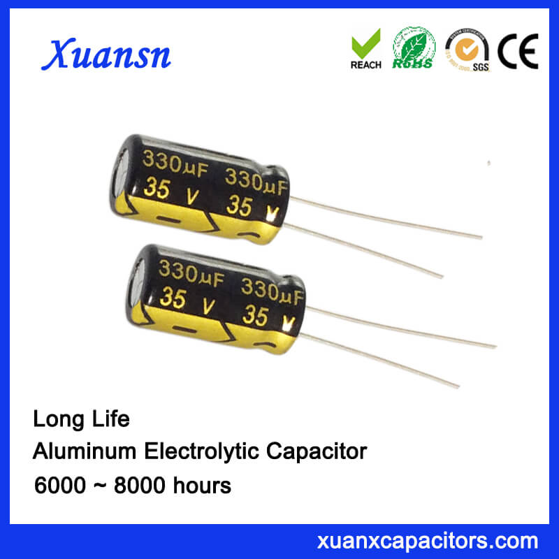 330uf 35v Electrolytic Capacitor For Led Power Supply