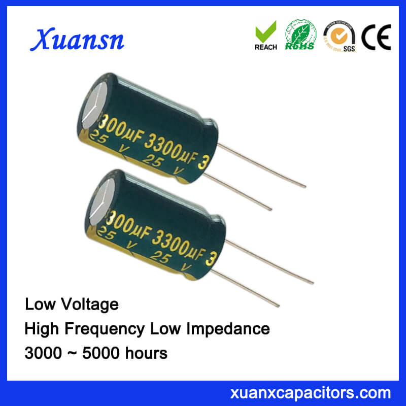 3300uf 25v Electrolytic Capacitor For LED Power Supply