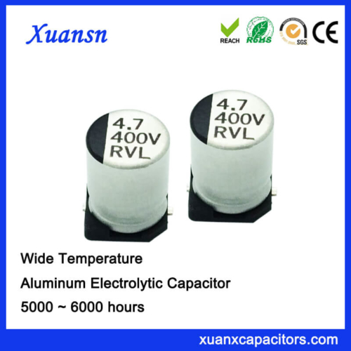 Wide Tempedance 4.7UF 400V Electrolytic Capacitor