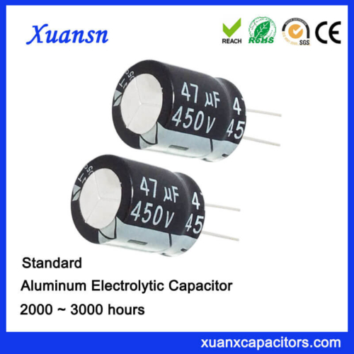 47UF 450V High Voltage Electrolytic Capacitors