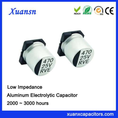 SMD Low esr 470UF 25V surface Mount Capacitor