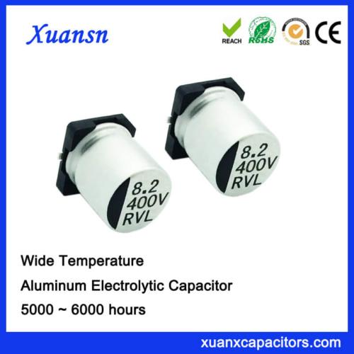 8.2UF 400V Chip Aluminum Electrolytic Capacitor