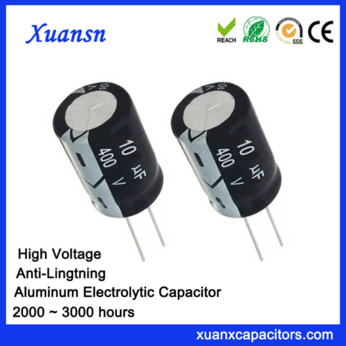10uf 400v Electrolytic Capacitor Anti-Lightning
