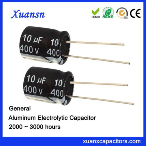High Voltage 400v 10uf Capacitor Electrolytic