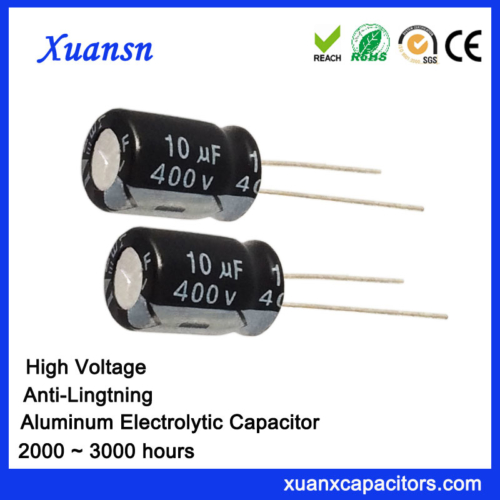 Anti-Lightning PET 400v Electrolytic Capacitor