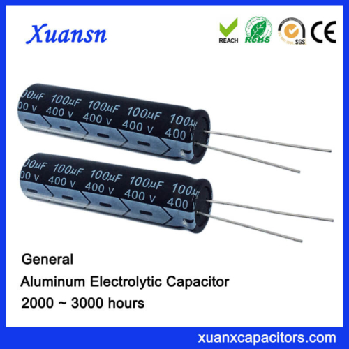 100uf 400v High Voltage Electric Capacitors
