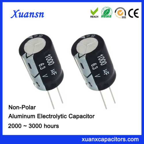 1000UF 6.3V NP Best Quality Electrolytic Capacitors