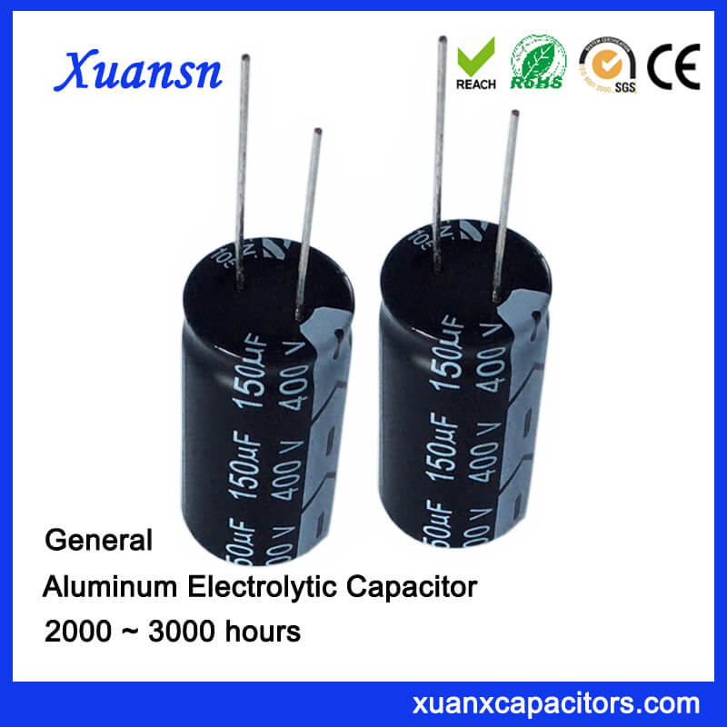 400v 150uf Capacitor Electrolytic For Charger