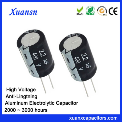 400v 2.2 uf Electrolytic Capacitor Anti-Lightning