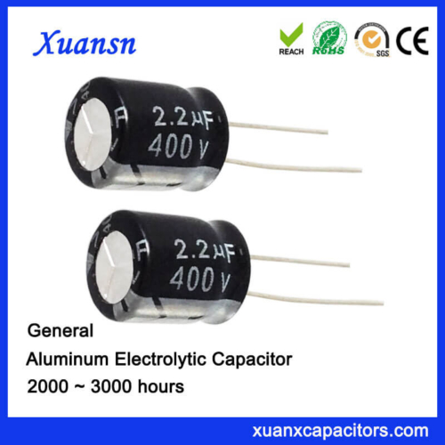 Ridial 2.2uf 400v General Capacitor Electrolytic
