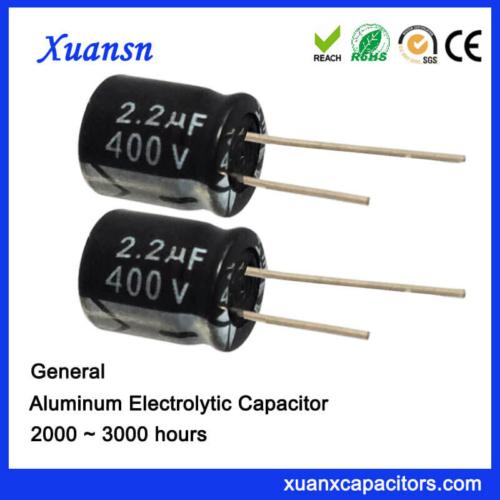 Radial Lead Type Aluminum Electrolytic Capacitors