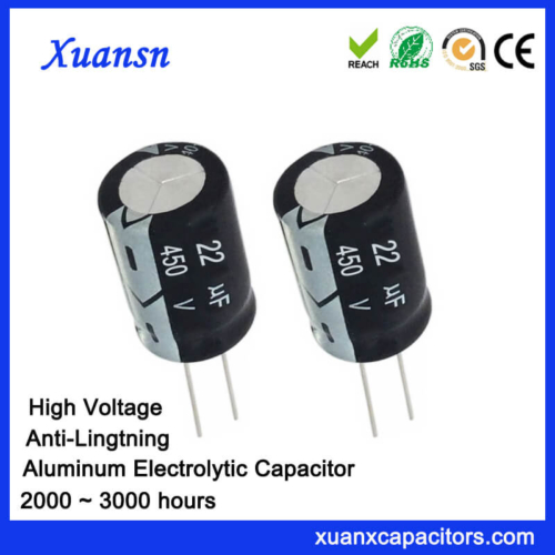 22uf 450v Anti-Lightning High Voltage Capacitor