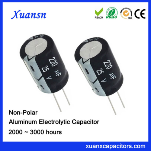 220uf 50v Non Polarised Electrolytic Capacitor