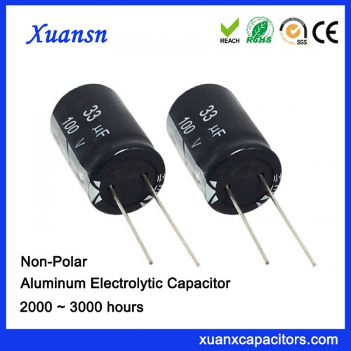 33uf electrolytic capacitor
